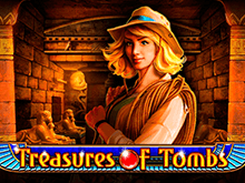 GMSlots: Treasures Of Tombs – щедрый автомат онлайн с сюрпризом